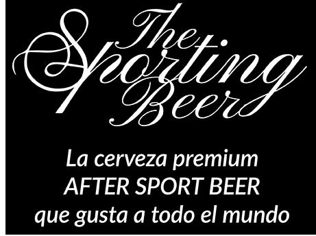 The Sporting Beer - La cerveza premium after sport beer que gusta a todo el mundo